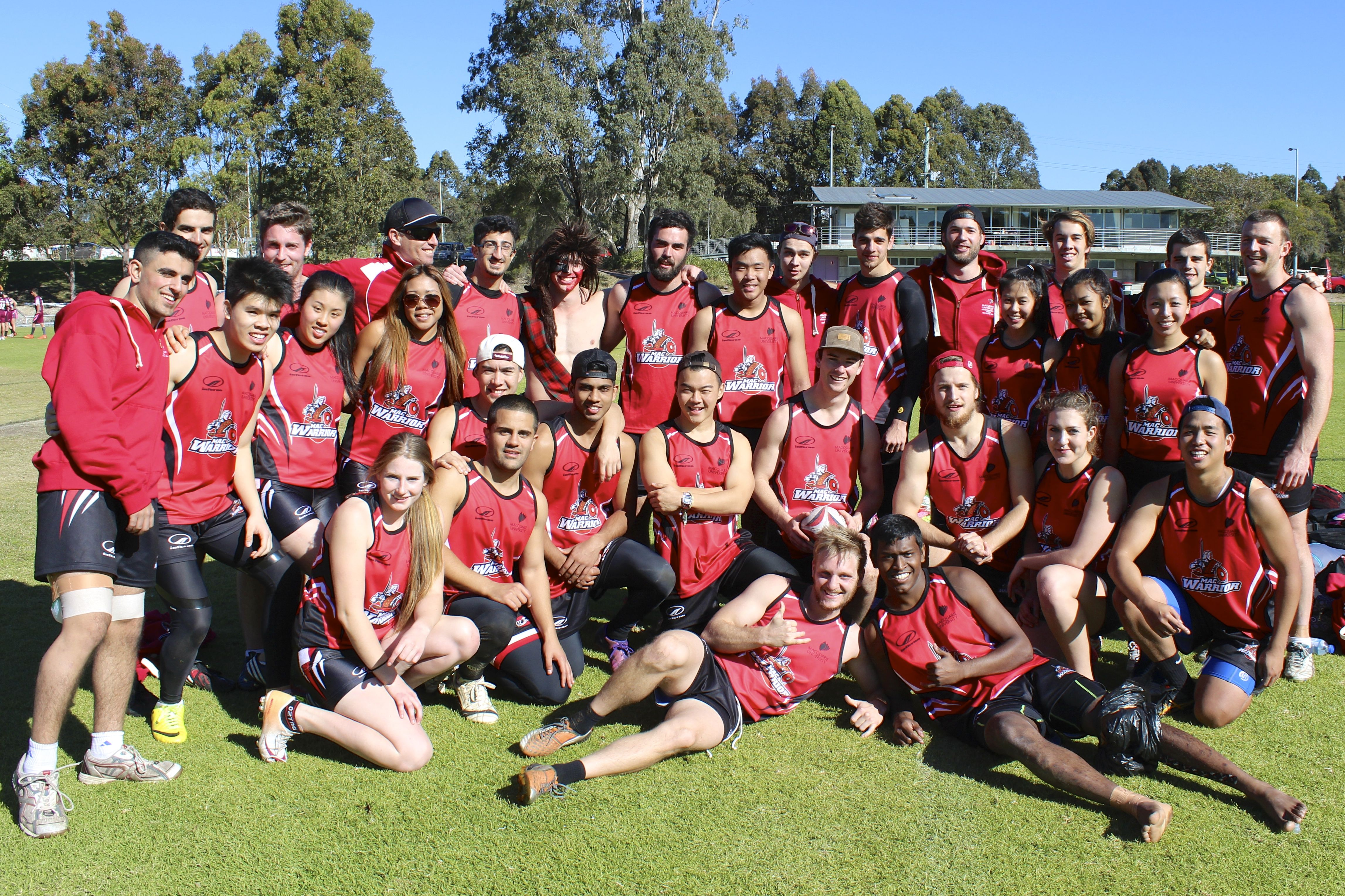 Macquarie University's Oztag teams won bronze and silver at the Eastern University Games.