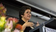 Associate Professor Karen Martin from the School of Education and Professional Studies at Griffith University challenged the audience at Macquarie's third annual Patyegarang Oration