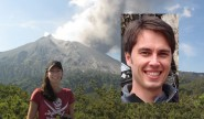 Volcanologist Heather Handley and Astronomer Lee Spitler (inset) are 2014 Young Poppy Award winners.