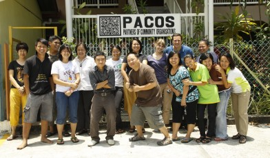 PACE International students with PACOS Trust, Malaysia.