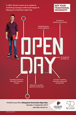 Open Day 2014 Marketing
