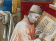 Image of a 15th century scribe