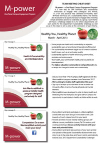 Healthy Planet Healthy You Cheat Sheet